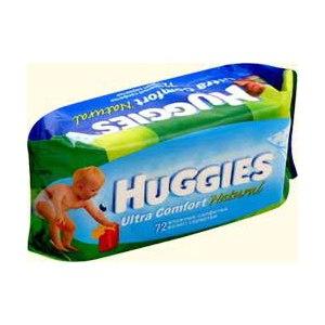 Влажные салфетки Huggies Ultra Comfort фото