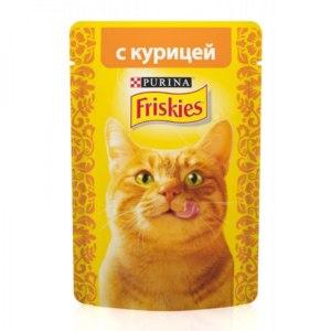 Корм для кошек Purina Friskies с курицей фото