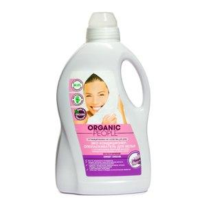 Эко кондиционер-ополаскиватель для белья  Organic People SWEET DREAM с органическими эфирными маслами французской лаванды и иланг-иланг  фото