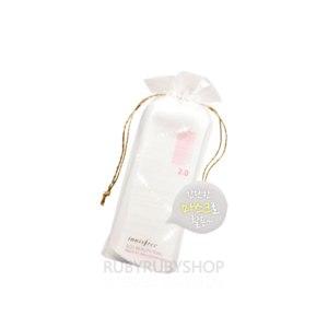 Ватные диски Innisfree Eco Beauty Tool Premium 100% Cotton Pads 80pcs фото