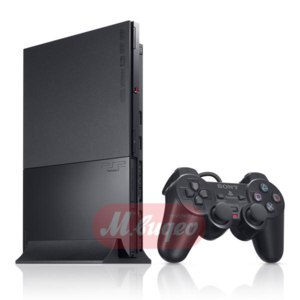 Игровая приставка PlayStation 2 Sony Slim Charcoal Black SCPH-90008 фото