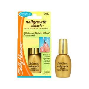 Средство по уходу за ногтями Sally Hansen Nailgrowth Miracle Salon Strength Treatment фото