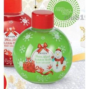 Пена для ванны Avon Bubble Bath Зеленое яблоко фото