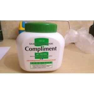 Бальзам Compliment для Поврежденных и ослабленных волос фото