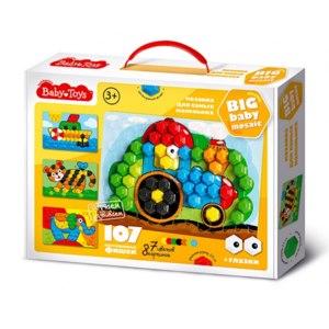Десятое королевство мозаика для самых маленьких Baby Toys Трактор 107 эл фото