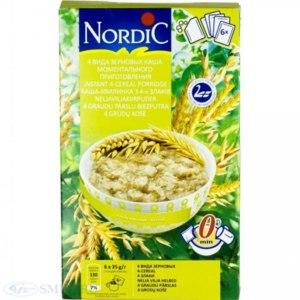 Каша быстрого приготовления Nordic  4 зерновая  фото