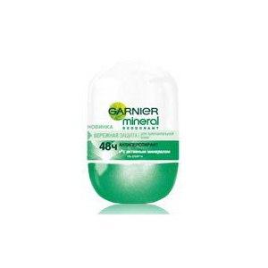 Дезодорант-антиперспирант Garnier Mineral 48ч. Бережная Защита для чувствительной кожи фото
