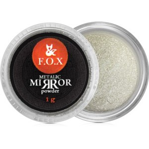 Втирка для ногтей F.O.X  Metalic Mirror Powder Silver фото