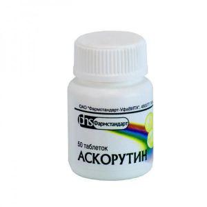 Витамины Фармстандарт Аскорутин таблетки фото