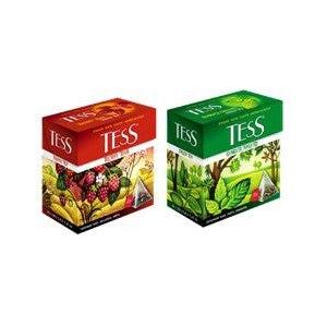 Чай в пирамидках Tess Summer Time фото