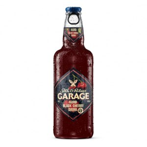 Пиво Carlsberg Seth&Riley's GARAGE Hard Black Cherry Drink фото