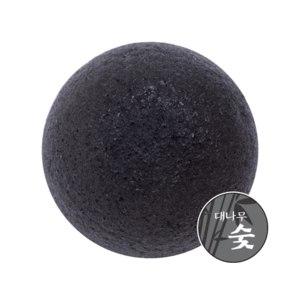 Спонж для лица Missha Konjac Natural Soft Jelly Cleansing Puff - Bamboo Charcoal  фото