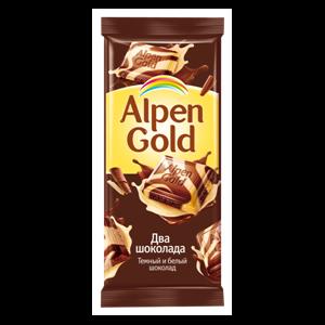 Шоколад Alpen Gold «Два Шоколада» фото