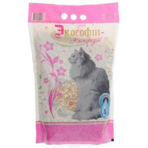 Наполнитель для кошачьего туалета Экософт Комфорт фото