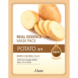 Тканевая маска для лица JLuna  Real Essence Mask Pack POTATO фото