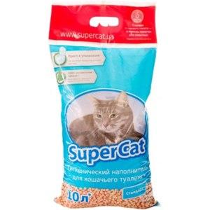 Наполнитель для кошачьего туалета Super Cat  фото