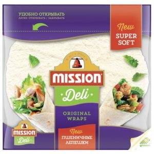 Тортилья Mission Deli Пшеничные лепешки фото