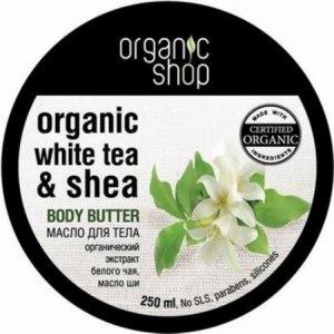 """Масло для тела ORGANIC SHOP """"Белый чай"""" фото"""