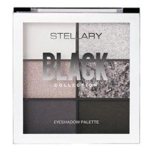Палетка теней STELLARY Black collection  фото