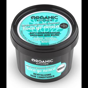 """Восстанавливающий бальзам для волос Organic Kitchen """"Коса до пояса"""" фото"""
