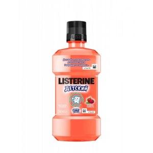 Ополаскиватель для полости рта Listerine  детский. Ягодная свежесть. фото