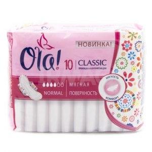 Прокладки Ola! Classic normal Новинка фото