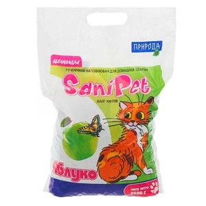 Наполнитель для кошачьего туалета Sani Pet Яблоко фото
