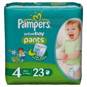 Подгузники-трусики Pampers Active boy pants фото