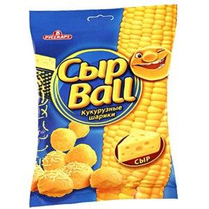 Кукурузные шарики со вкусом сыра РУССКАРТ СЫР BALL фото