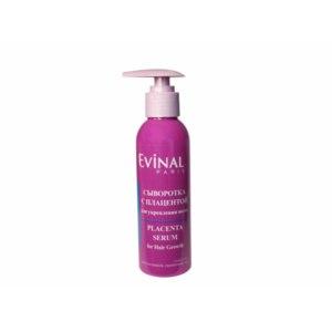 Сыворотка для волос Evinal регенерирующая и укрепляющая с экстрактом плаценты фото