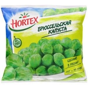 Овощи замороженные Hortex Брюссельская капуста фото