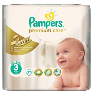 Подгузники Pampers Premium Care фото