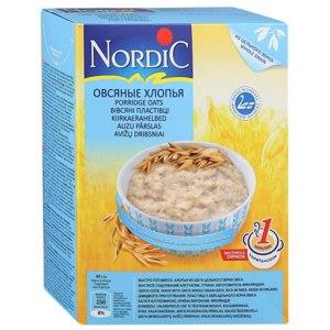 Овсяные хлопья Nordic из цельного зерна фото