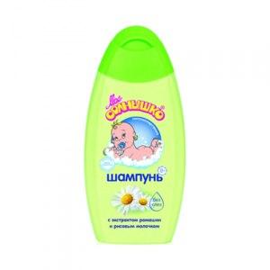 Шампунь Мое солнышко с экстрактом ромашки и рисовым молочком (с рождения) фото
