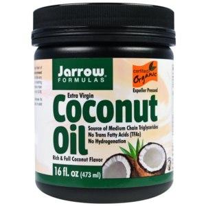 Масло Jarrow Formulas Coconut Oil, Extra Virgin, 16 oz (454 g) фото