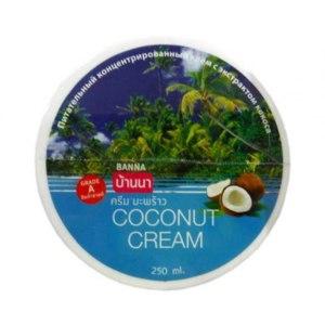 Питательный концентрированный крем с экстрактом кокоса BANNA Coconut cream фото