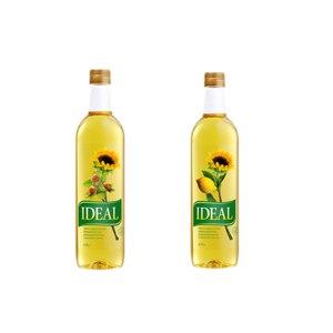 Масло подсолнечное  IDEAL (с ароматом лимона) фото