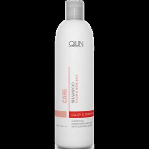 Шампунь для окрашенных волос Ollin Care Сохраняющий цвет и блеск (Shampoo Color & Shine save) фото