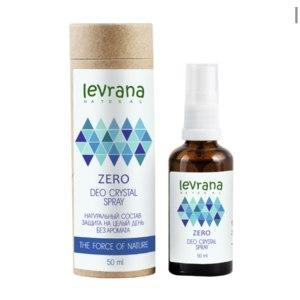 Дезодорант Levrana Натуральный ZERO без запаха фото
