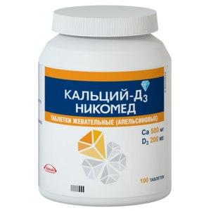 Витамины Nycomed Кальций-Д3 Никомед с апельсиновым вкусом фото