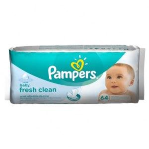Влажные салфетки Pampers Baby Fresh Clean фото