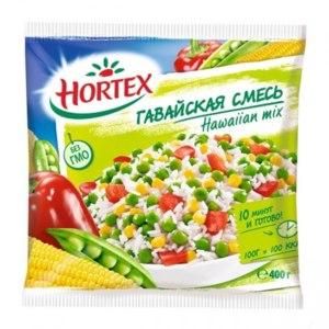 Овощи замороженные Hortex Гавайская смесь фото