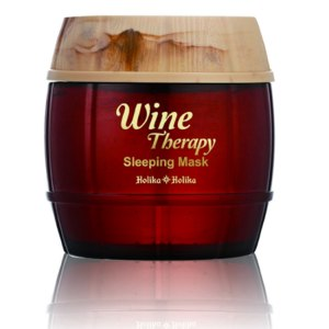 Маска для лица Holika Holika Wine Therapy Sleeping Mask #1 Red Wine  фото
