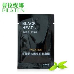 Маска от черных точек Pilaten Black Head Pore Strip фото