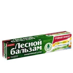 Зубная паста Лесной бальзам Тройной эффект фото