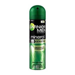 Дезодорант-антиперспирант Garnier men mineral для чувствительной кожи, 48ч, спрей фото