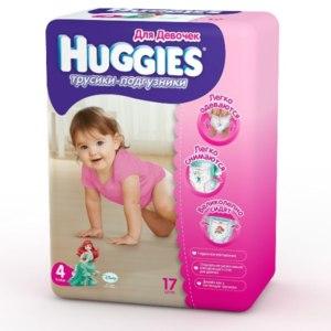 Подгузники-трусики Huggies Хагисы для девочек  фото