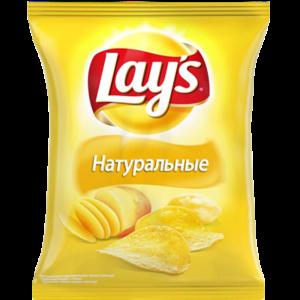"""Чипсы картофельные Lays """"Натуральные"""" фото"""
