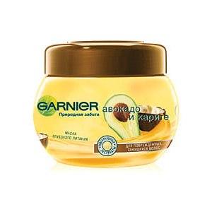 """Маска для волос Garnier """"Авокадо и карите"""" глубокое восстановление фото"""