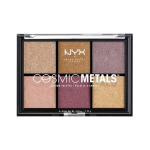 Тени для век NYX Professional Makeup Cosmic metals eyeshadow palette фото
